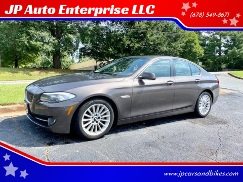 2013 BMW 5 Series for sale at JP Auto Enterprise LLC in Duluth GA