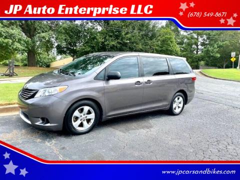 2015 Toyota Sienna for sale at JP Auto Enterprise LLC in Duluth GA