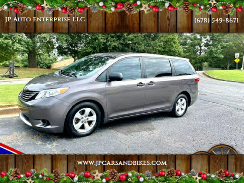 2015 Toyota Sienna for sale at JP Auto Enterprise LLC in Duluth GA