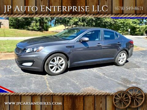 2011 Kia Optima for sale at JP Auto Enterprise LLC in Duluth GA