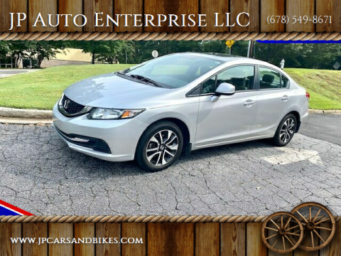 2013 Honda Civic for sale at JP Auto Enterprise LLC in Duluth GA