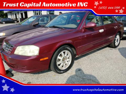 2001 Kia Optima for sale at Trust Capital Automotive INC in Covington GA
