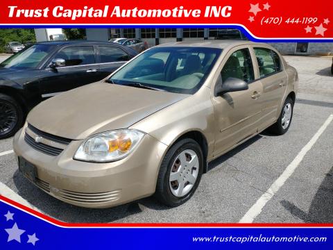 2006 Chevrolet Cobalt for sale at Trust Capital Automotive INC in Covington GA