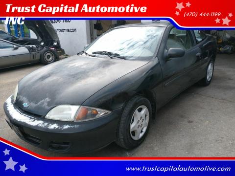 2001 Chevrolet Cavalier for sale at Trust Capital Automotive INC in Covington GA