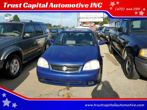 2007 Suzuki Forenza for sale at Trust Capital Automotive INC in Covington GA