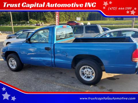 2001 Dodge Dakota for sale at Trust Capital Automotive INC in Covington GA