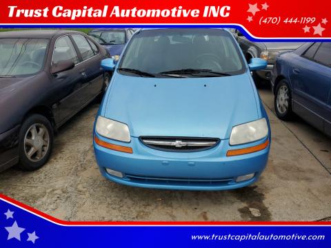 2006 Chevrolet Aveo for sale at Trust Capital Automotive INC in Covington GA