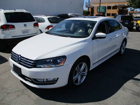 Used Cars For Sale Under 10000 >> 2014 Volkswagen Passat For Sale In Westminster Ca