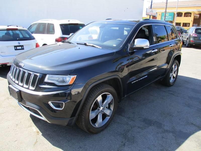 2014 Jeep Grand Cherokee for sale at Shoppe Auto Plus in Westminster CA