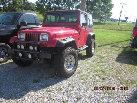 1987 Jeep Wrangler for sale in Kendallville, IN