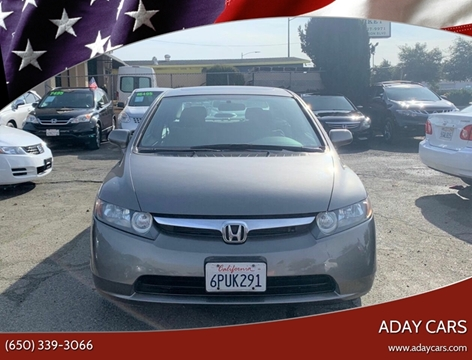 Honda Civic For Sale In Hayward Ca Aday Cars