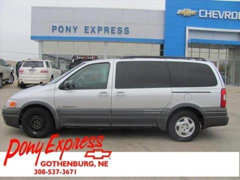 2002 Pontiac Montana for sale in Minden, NE