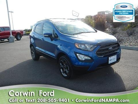 2018 Ford EcoSport for sale in Nampa, ID