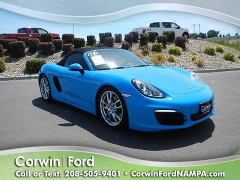 2013 Porsche Boxster for sale in Nampa, ID