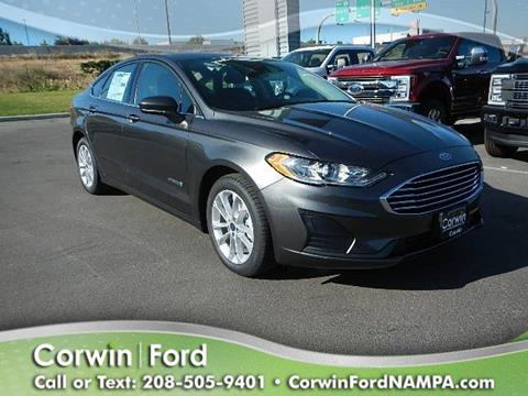 2019 Ford Fusion Hybrid for sale in Nampa, ID