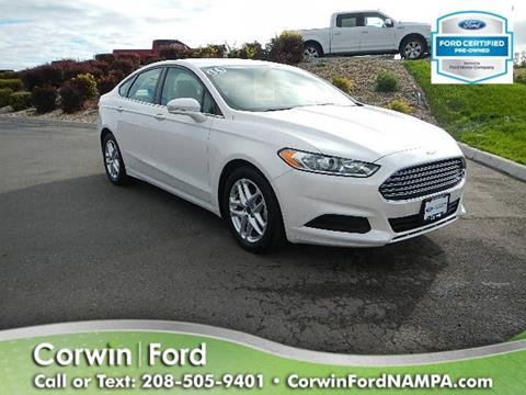2016 Ford Fusion for sale in Nampa, ID