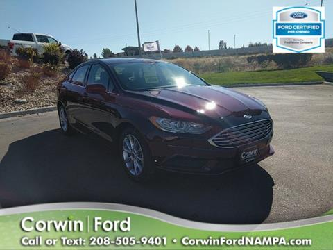 2017 Ford Fusion for sale in Nampa, ID