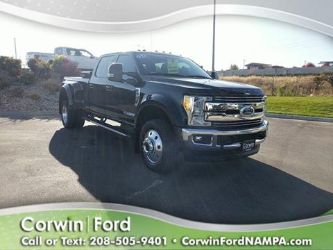 2017 Ford F-450 Super Duty for sale in Nampa, ID