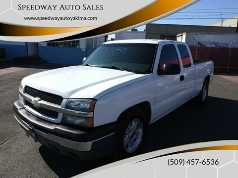 2003 Chevrolet Silverado 1500 LT for sale at Speedway Auto Sales in Yakima WA