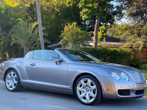 2008 Bentley Continental for sale in Hollywood, FL