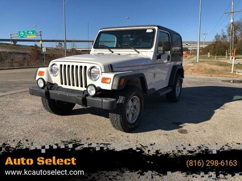 2001 Jeep Wrangler for sale in Kansas City, MO