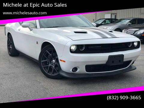 2016 Dodge Challenger for sale in Cypress, TX