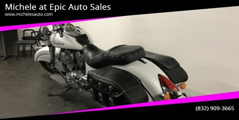 2016 Indian CHIEF CLASSIC for sale in Cypress, TX