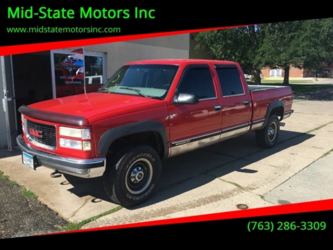 1999 GMC Sierra 2500 Classic for sale in Rockford, MN