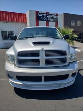 Used Dodge Ram >> 2005 Dodge Ram Pickup 1500 Srt 10 For Sale In Las Vegas Nv