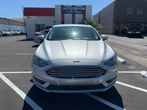 2017 Ford Fusion Hybrid for sale in Las Vegas, NV