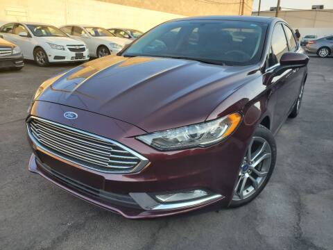 2017 Ford Fusion for sale at Auto Center Of Las Vegas in Las Vegas NV