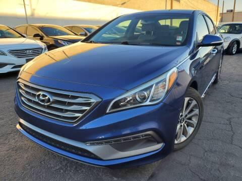 2015 Hyundai Sonata for sale at Auto Center Of Las Vegas in Las Vegas NV