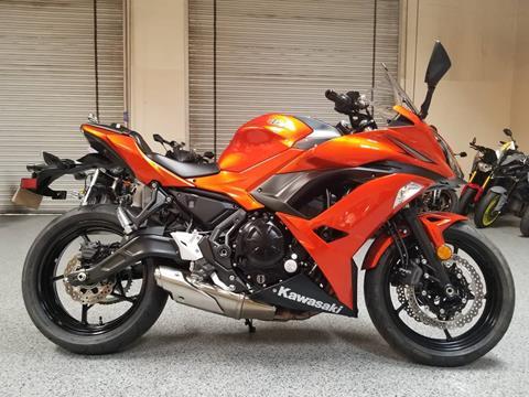 2017 Kawasaki Ninja 650 for sale in El Cajon, CA