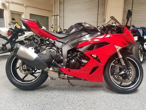 2009 Kawasaki Ninja ZX-6R for sale in El Cajon, CA