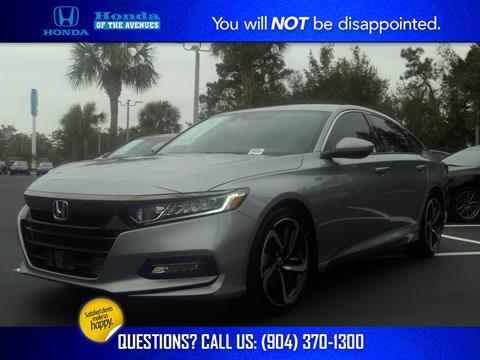2020 Honda Accord for sale in Jacksonville, FL