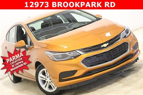 2017 Chevrolet Cruze for sale in Parma, OH