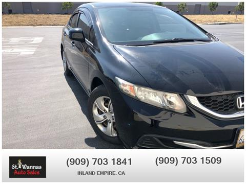 2013 Honda Civic for sale in Chino, CA