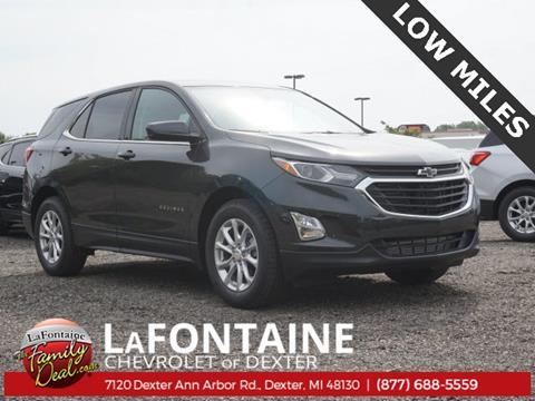 2020 Chevrolet Equinox for sale in Dexter, MI