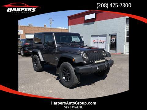 2017 Jeep Wrangler for sale in Pocatello, ID