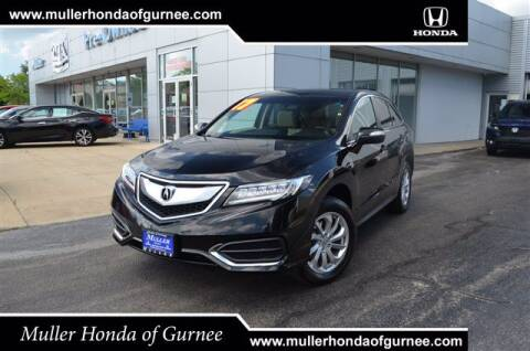 2017 Acura RDX for sale at RDM CAR BUYING EXPERIENCE in Gurnee IL