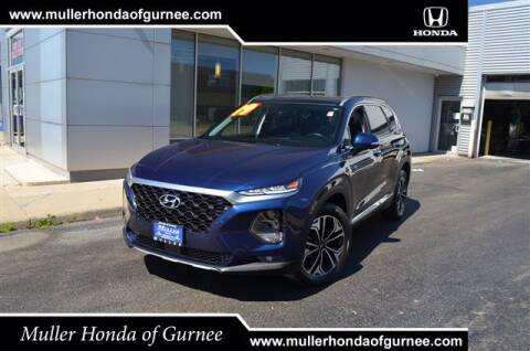 2019 Hyundai Santa Fe for sale at RDM CAR BUYING EXPERIENCE in Gurnee IL