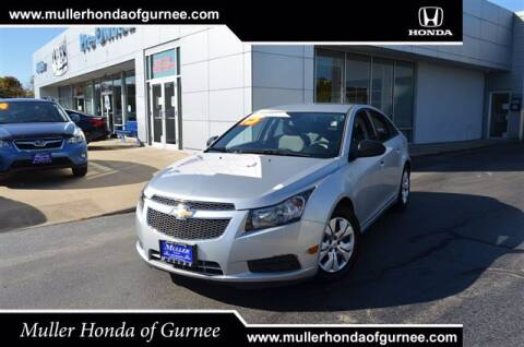 2013 Chevrolet Cruze for sale at RDM CAR BUYING EXPERIENCE in Gurnee IL