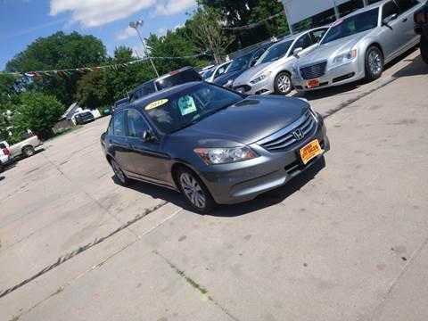 2011 Honda Accord EX for sale at Jubba Auto Sales in Grand Island NE