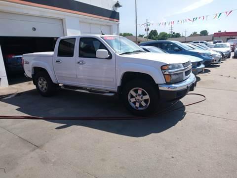 2012 Chevrolet Colorado LT for sale at Jubba Auto Sales in Grand Island NE