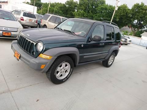 2005 Jeep Liberty Sport for sale at Jubba Auto Sales in Grand Island NE