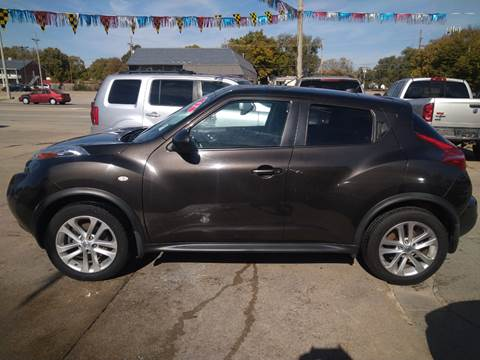 2012 Nissan JUKE SV for sale at Jubba Auto Sales in Grand Island NE