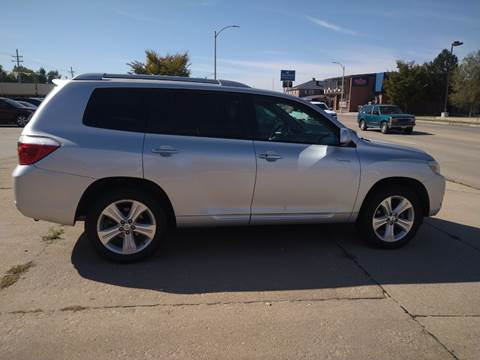 2010 Toyota Highlander Limited for sale at Jubba Auto Sales in Grand Island NE