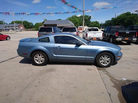 2007 Ford Mustang V6 Premium for sale at Jubba Auto Sales in Grand Island NE