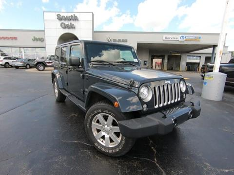 2018 Jeep Wrangler Unlimited for sale in Matteson, IL