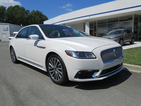 2017 Lincoln Continental for sale in Winston Salem, NC